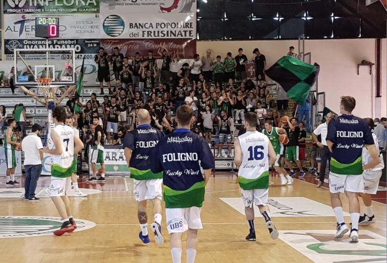 Termina a Ferentino la stagione della Lucky Wind Foligno: un anno straordinario che ci regala una promozione ed un sogno solo sfiorato.