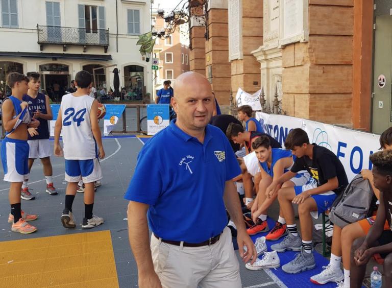 Sarà Paolo Pierotti l'head coach della Lucky Wind nella prossima stagione di serie C Gold