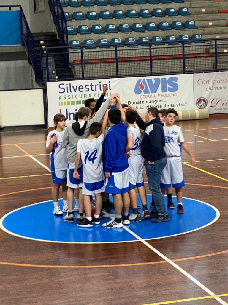 Gli under 14 battono la Pallacanestro Perugia