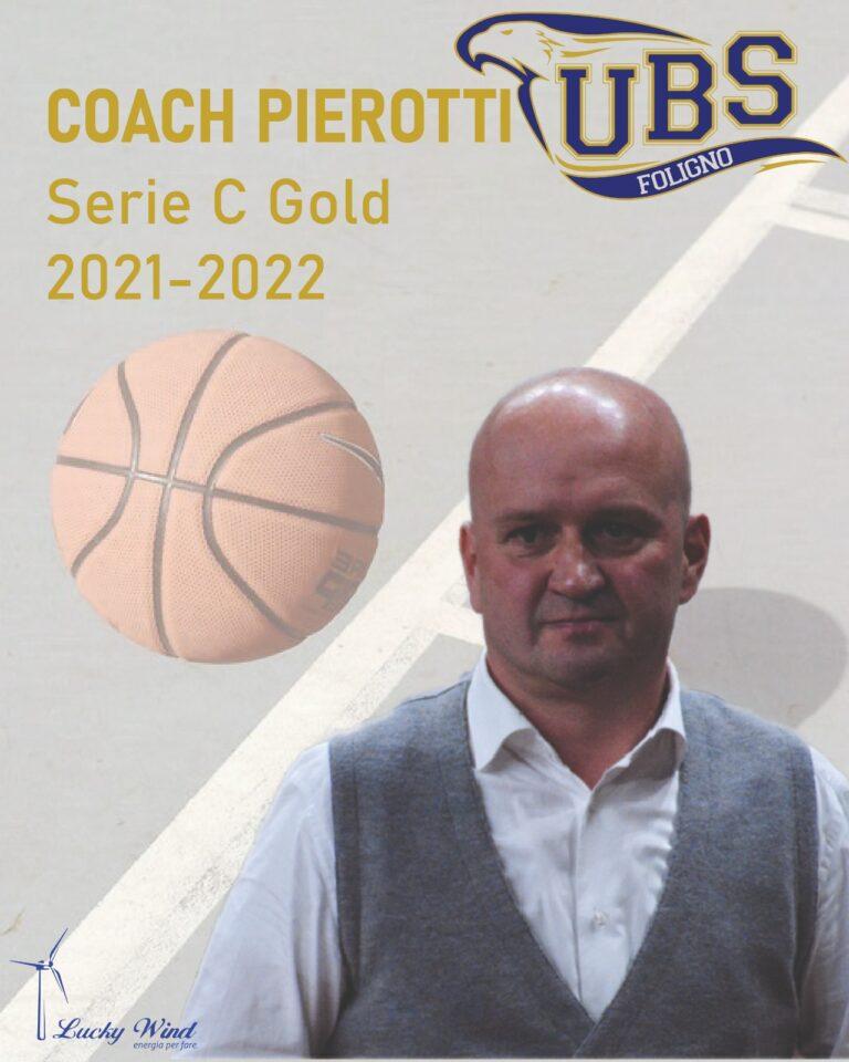 Paolo Pierotti e UBS Foligno avanti insieme
