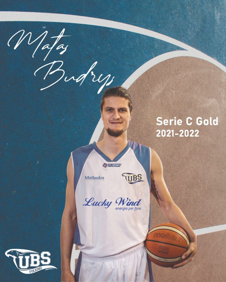 Colpo di mercato per la Lucky Wind: dalla Lituania arriva Matas Budrys